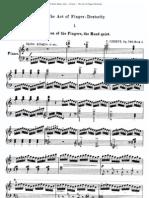 Czerny - The Art of Finger Dexterity - Op. 740