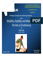 Mobility, Stability and Movement