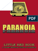 Paranoia Xp - Little Red Book (Workprint) (Mgp6646