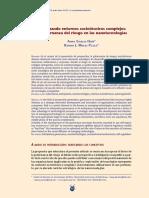 Gestionando Entornos Sociotécnicos Complejos Governança