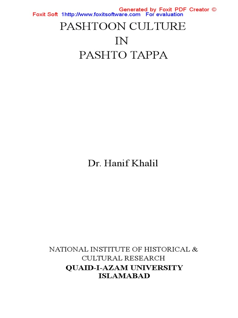 pashtoon culture in pashto tappa 2 literary theory poetry