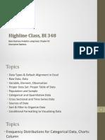 Basic economic analytics using Excel!