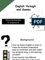 [Teaching English Through Songs and Games]