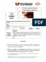 Examen Final Auditoria Operativa