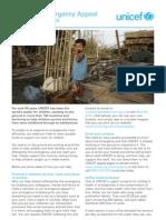 Unicef - Children's Emergency Appeal Fundraising Ideas