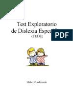 Test-Exploratorio-de-Dislexia-Específica-TEDE-EDITABLE