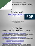 Curso de Finanças Publicas