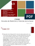 Biología del desarrollo Caso 13