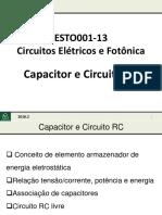 09 Capacitor e Circuito RC 2016 2