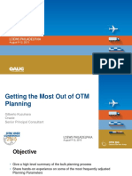 C15U-22A Getting the Most Out of OTM Planning Gilberto Kuzuhara Oracle Consulting