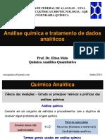 Aula 01 - Elton Melo (Análise Química e Tratamento de Dados - Eng. Química)