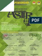 Proposal Sponsorship Astir#5