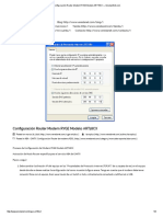 Configuración Router Modem RYGE Modelo ART18CX – VeredanNet