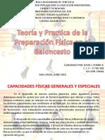 Capacidades Fisica Generales y Especiales en El Baloncesto