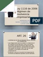 Ley 11 16 Diapositivas