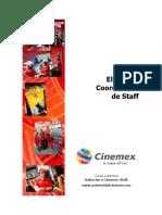 Cinemex (Plaza Oriente)Coordinador
