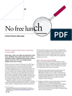 No Free Lunch 2009 Electronic