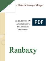 Ranbaxy-Daiichi-Sankyo-Ppt.ppt