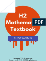 H2 Mathematics Textbook (Choo Yan Min)