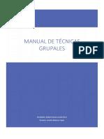 Manual de Técnicas Grupales
