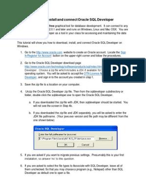 Oracle database mac os x download windows 10