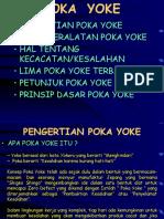 Pokayoke - Error Proofing