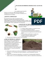 Hoja Informativa de Fertilización Con Compost