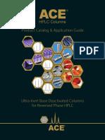 ACE® Ultra-Inert Base Deactivated HPLC Columns