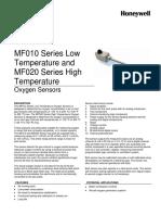 Honeywell Sensing Mf010 Mf020 Product Sheet 000670 3 En