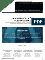 A Empresa - Saiba Tudo Sobre a Locaweb Soluções Corporativas