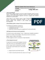 Hoja Informativa de Almacen de Embases Vacios