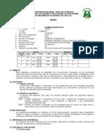 Silabo de Química Agrícola II - 2015-II