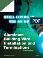 Aluminum Wire Termination