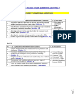 MRKT Solution for Self Test Lecture 9