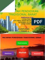 Falsafah Pendidikan Tradisional Barat (Edited) [Autosaved]