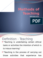 1. Methods of Teaching Introduction VI (0).pptx