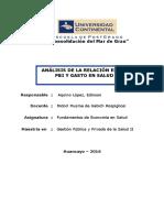 Relacion entre el PBI y el Gasto en Salud - Edinson.docx