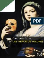 Bruno, Giordano - Los Heroicos Furores [30187] (r1.0)