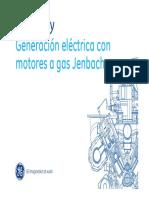 Generacion electrica con motores a Gas