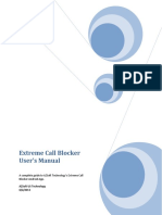 Extreme Call Blocker User Manual