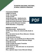 XXXVIII ENCUENTRO NACIONAL DE PASTORAL PENITENCIARIA CORDOVA VERACRUZ