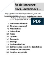 Escudero Martin, Jesus & MEC (2000). Cajon de Internet-Curiosidades e Invenciones