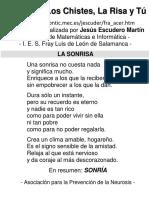 Escudero Martin, Jesus & MEC (2000). El Chiste El Humor La Risa y Tu
