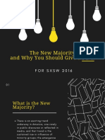 The New Majority and Why You Should Give a Fu*k - SXSW 2016 Panelpicker