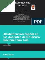 Alfabetización Digital de los profesores
