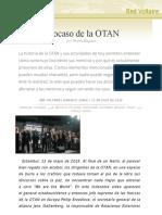 El Ocaso de La OTAN , Por Thierry Meyssan