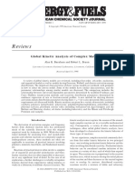 Global Kinetic Analysis of Complex Materials