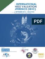 Brochure IBVC 2016