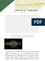 """En Los Anillos de La """"Anakonda"""", Por Manlio Dinucci"""