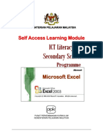 ICTL for Secondary School - Spreadsheet